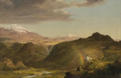 South American Landscape by Frederic Edwin Church