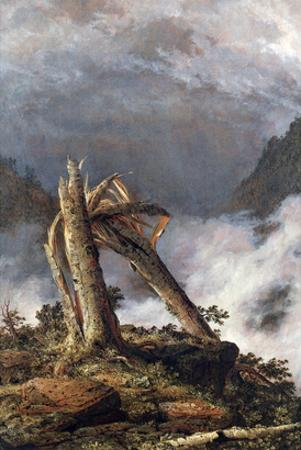 Storm in the Mountains by Frederic Edwin Church