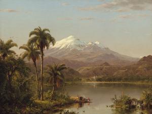 Tamaca Palms by Frederic Edwin Church