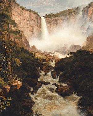 Tequendama Falls, near Bogota, New Granada by Frederic Edwin Church