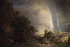 The Aegean Sea by Frederic Edwin Church