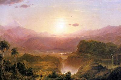 The Andes of Ecuador, c.1876 by Frederic Edwin Church