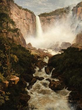 The Falls of the Tequendama Near Bogota, New Granada, 1854 by Frederic Edwin Church