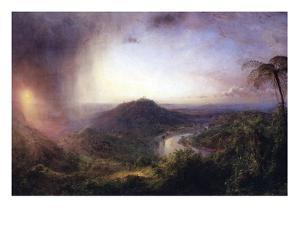 The Valley of St. Thomas, Jamaica by Frederic Edwin Church