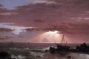 The Wreck by Frederic Edwin Church
