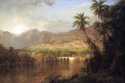 Tropical Scene by Frederic Edwin Church
