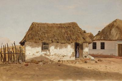 Two Houses in Barranquilla, Colombia by Frederic Edwin Church