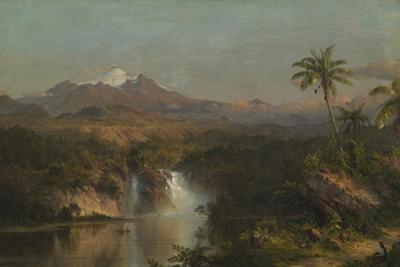 View of Cotopaxi, 1857 by Frederic Edwin Church
