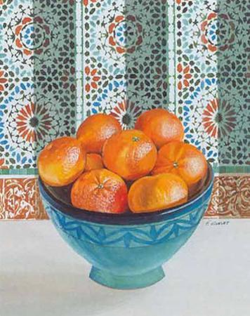 Mandarines by Frederic Givelet
