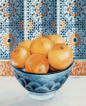 Oranges by Frederic Givelet