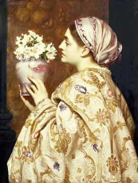 A Noble Lady of Venice, C.1865 by Frederic Leighton