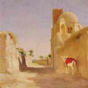 A Street in Damascus, 1873 by Frederic Leighton