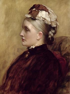 Alexandra Leighton (Mrs Sutherland Orr) (1827-1903), 1891 by Frederic Leighton