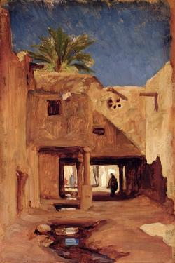 Courtyard in Algiers, C.1879 by Frederic Leighton