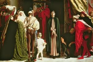 Dante in Exile, 1864 by Frederic Leighton