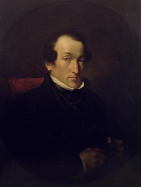 Dr. Frederick Septimus Leighton (1800-92), C.1850 by Frederic Leighton