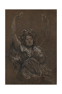 Female Study', c1897, (1897) by Frederic Leighton