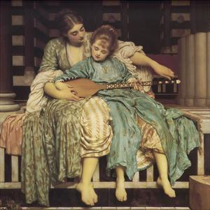 Music Lesson by Frederic Leighton