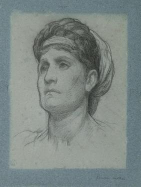 Study for 'Clytemnestra', C.1873 by Frederic Leighton