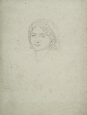 Study of a Female Head, Capri, 1859 by Frederic Leighton