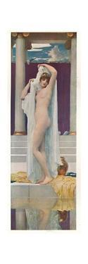 'The Bath of Psyche', c1890 by Frederic Leighton