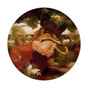 The Garden of the Hesperides, Ca 1892 by Frederic Leighton