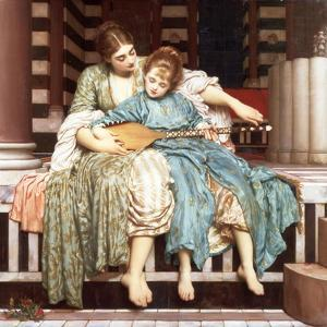 The Music Lesson, 1877 by Frederic Leighton