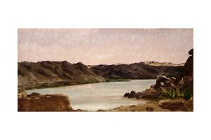View on the Nile, 1868 by Frederic Leighton