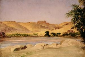 View on the Nile, C.1879 by Frederic Leighton