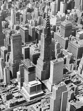 Aerial of Chrysler Building by Frederic Lewis