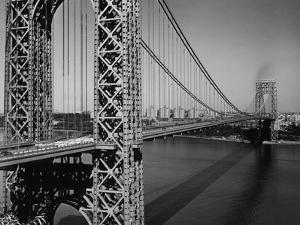 George Washington Bridge by Frederic Lewis