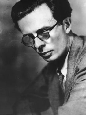 Portrait of Writer Aldous Huxley by Frederic Lewis