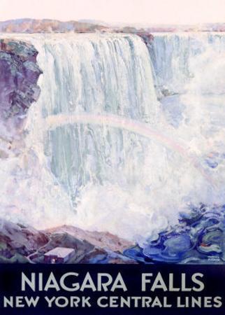 New York, Central Lines, Niagara Falls by Frederic Madan