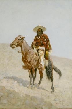 A Mexican Vaquero, 1890 by Frederic Remington