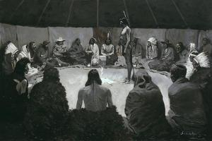 I Will Tell the White Man, C.1900 by Frederic Remington