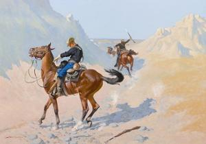 The Advance-Guard, or the Military Sacrifice (The Ambush), 1890 by Frederic Remington