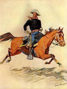 A Cavalry Officer, 1901 by Frederic Sackrider Remington