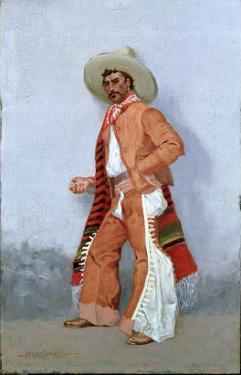 A Vaquero by Frederic Sackrider Remington