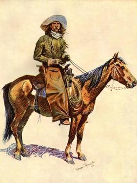 An Arizona Cowboy by Frederic Sackrider Remington