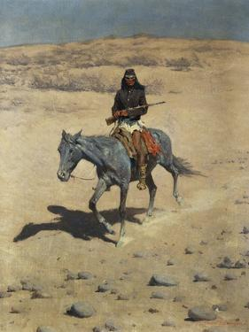 Apache Scout by Frederic Sackrider Remington