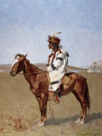 Blackfoot Indian by Frederic Sackrider Remington