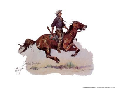 Crow Scout by Frederic Sackrider Remington