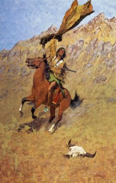 If Skulls Could Speak by Frederic Sackrider Remington