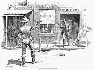Remington: Duel by Frederic Sackrider Remington