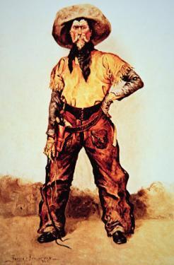 Texas Cowboy, c.1890 by Frederic Sackrider Remington