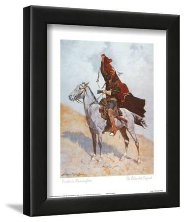 The Blanket Signal by Frederic Sackrider Remington