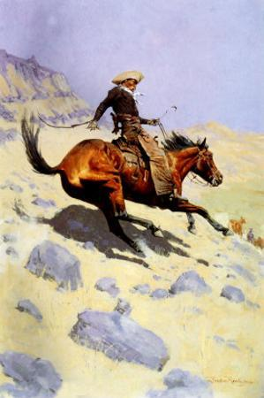 The Cowboy, 1902 by Frederic Sackrider Remington