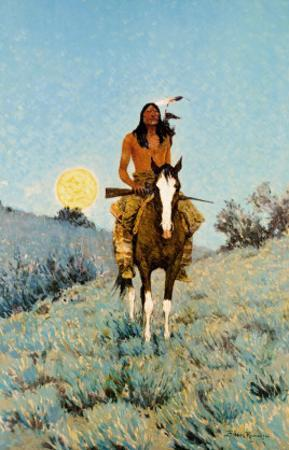 The Outlier by Frederic Sackrider Remington