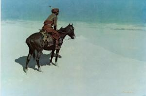 The Scout: Friends or Enemies by Frederic Sackrider Remington