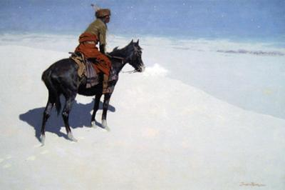 The Scout, Friends or Foes by Frederic Sackrider Remington